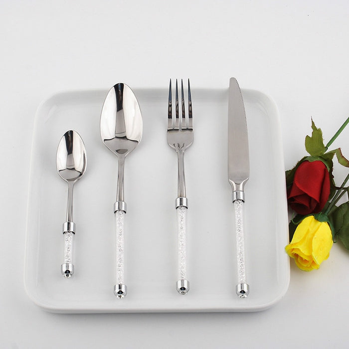 Commova Cutlery Set from Interior Deluxe | Modern Lighting + Decor