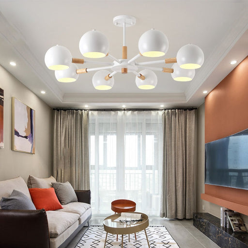 Buy online latest and high quality Orb 8 Chandelier from Interior Deluxe | Modern Lighting + Decor