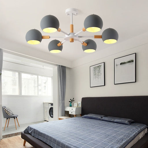Orb 6 Chandelier from Interior Deluxe | Modern Lighting + Decor