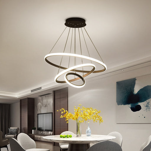 Buy online latest and high quality Ringo LED Chandelier from Interior Deluxe | Modern Lighting + Decor