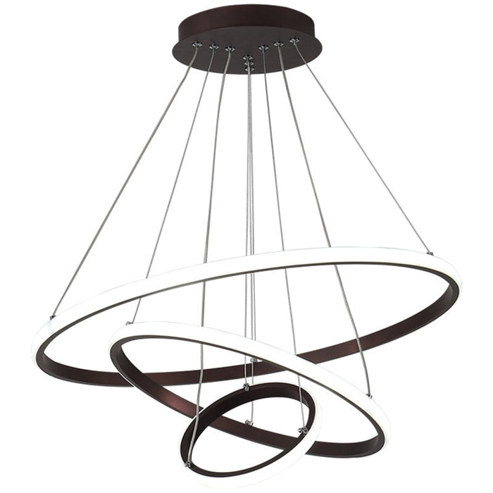 Ringo LED Chandelier from Interior Deluxe | Modern Lighting + Decor