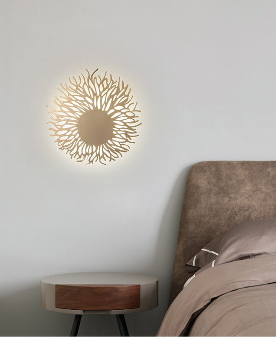 Sunflowers LED Wall Light from Interior Deluxe | Modern Lighting + Decor