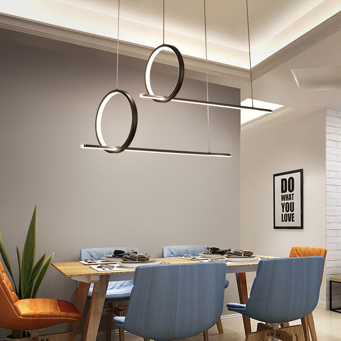 Lins LED Pendant Light from Interior Deluxe | Modern Lighting + Decor