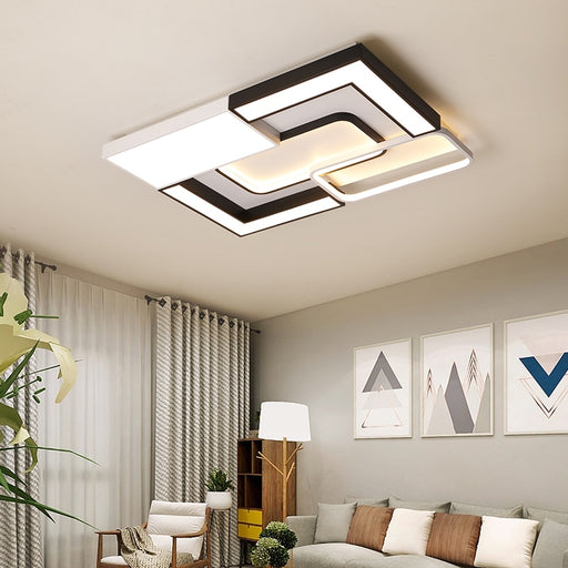 Zack LED Ceiling Light from Interior Deluxe | Modern Lighting + Decor
