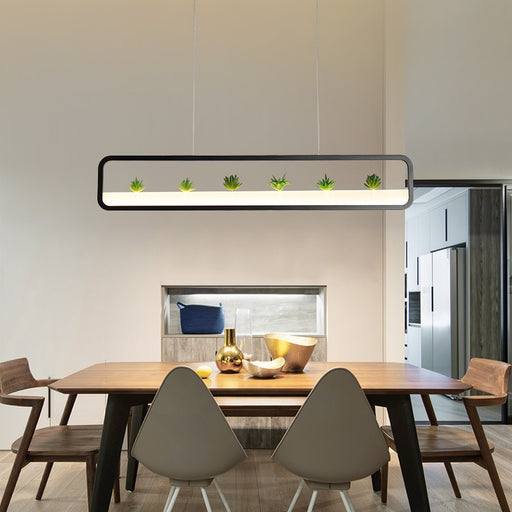 Origo LED Linear Pendant Light from Interior Deluxe | Modern Lighting + Decor