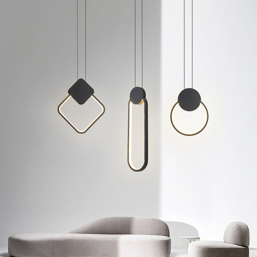 Miks LED Pendant Light from Interior Deluxe | Modern Lighting + Decor