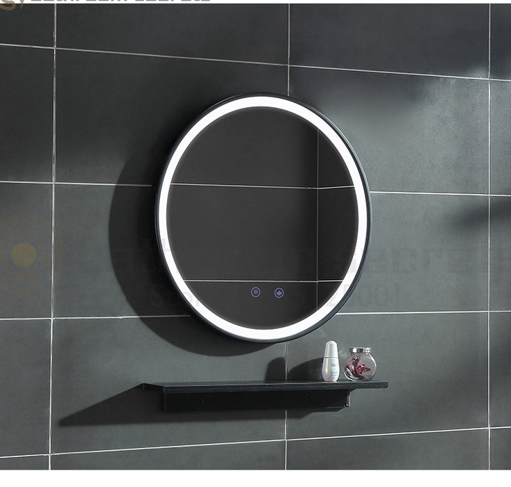 Buy online latest and high quality Silverripple Lighted Mirror from Interior Deluxe | Modern Lighting + Decor