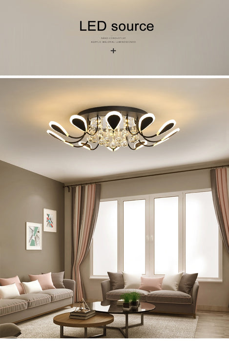 Pistil LED Ceiling Light from Interior Deluxe | Modern Lighting + Decor