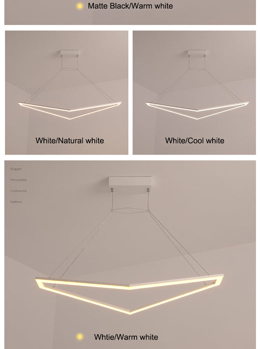 Voltus LED Pendant Light from Interior Deluxe | Modern Lighting + Decor