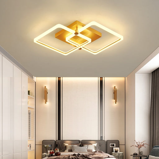 Buy online latest and high quality Dice 2 Arm LED Ceiling Light from Interior Deluxe | Modern Lighting + Decor