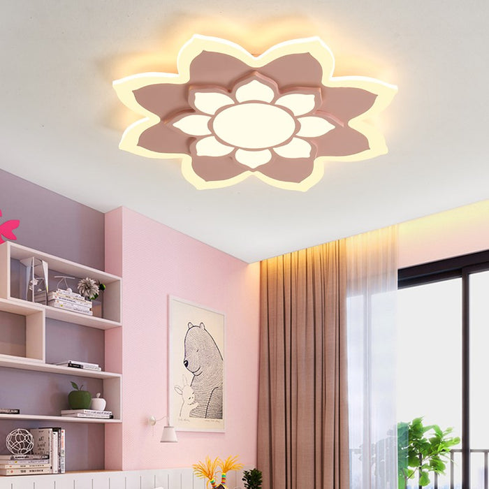 Sunflower LED Ceiling Light from Interior Deluxe | Modern Lighting + Decor