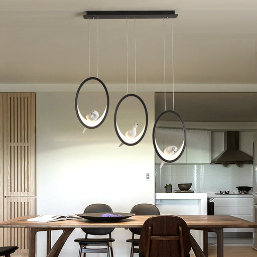 Ring Bird LED Pendant Light from Interior Deluxe | Modern Lighting + Decor