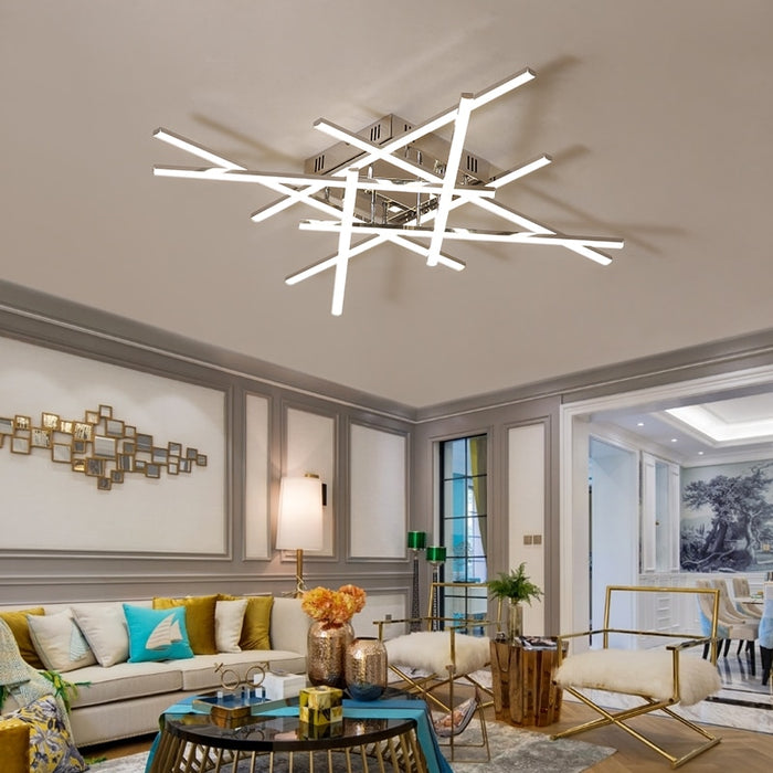 Atria LED Ceiling Light from Interior Deluxe | Modern Lighting + Decor