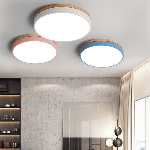 Motega LED Flush Mount Ceiling Light from Interior Deluxe | Modern Lighting + Decor