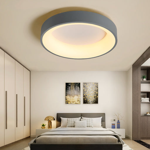 Buy online latest and high quality Alvia Round LED Ceiling Light from Interior Deluxe | Modern Lighting + Decor