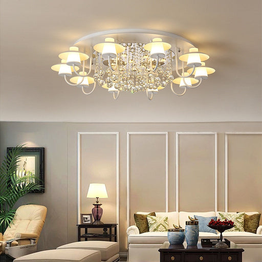 Digo Crystal Ceiling Light from Interior Deluxe | Modern Lighting + Decor