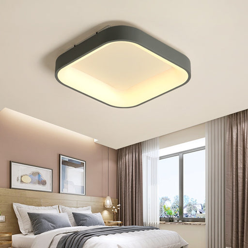 Buy online latest and high quality Alvia Square LED Ceiling Light from Interior Deluxe | Modern Lighting + Decor
