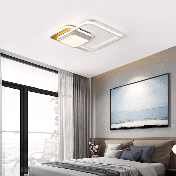 Conta Square LED Ceiling Light from Interior Deluxe | Modern Lighting + Decor
