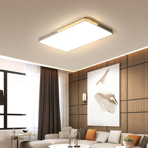 Flat LED Ceiling Light from Interior Deluxe | Modern Lighting + Decor