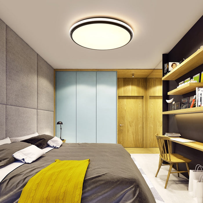 Ultra Flat LED Ceiling Light from Interior Deluxe | Modern Lighting + Decor
