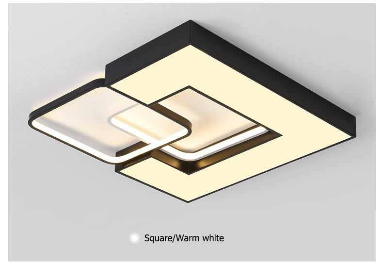 Flo LED Ceiling Light from Interior Deluxe | Modern Lighting + Decor