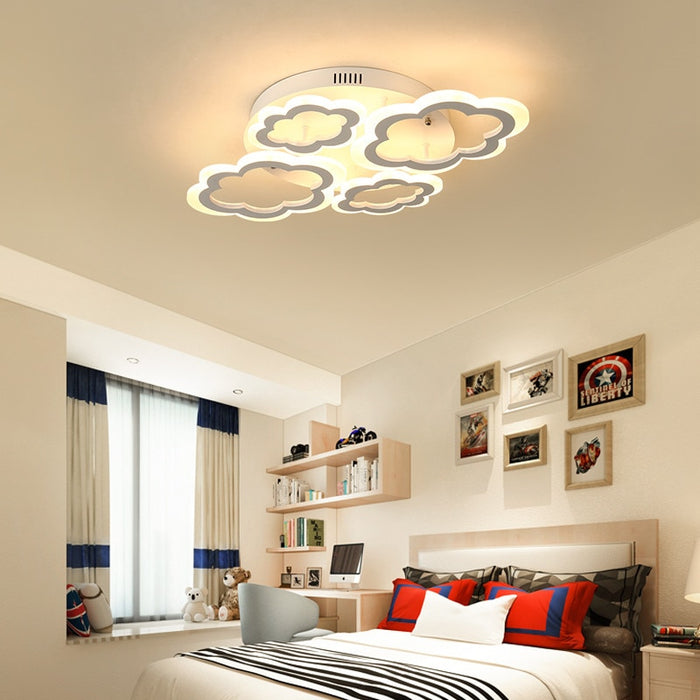 Modern Cloud LED Ceiling Light from Interior Deluxe | Modern Lighting + Decor