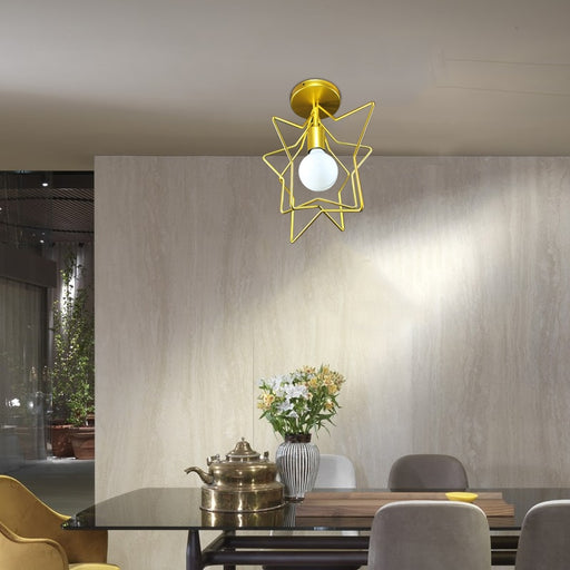Thin Star Ceiling Light from Interior Deluxe | Modern Lighting + Decor