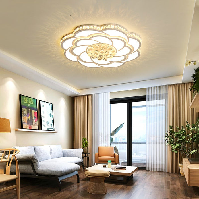 Crystalous LED Ceiling light from Interior Deluxe | Modern Lighting + Decor