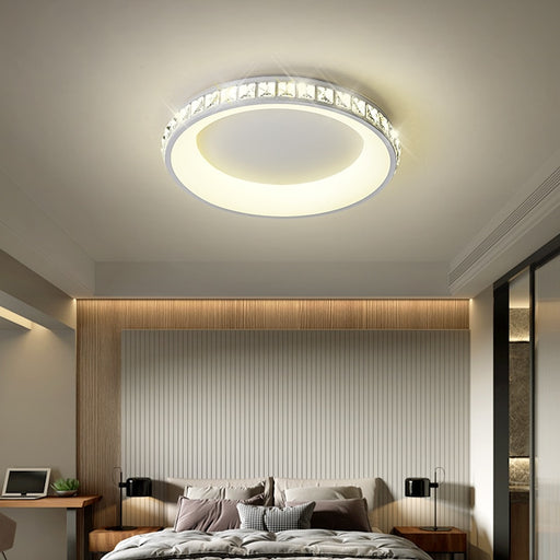 Leddy Crystal LED Ceiling Light from Interior Deluxe | Modern Lighting + Decor