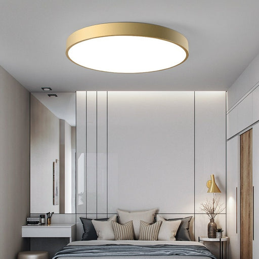 Buy online latest and high quality Rasia Gold LED Ceiling Light from Interior Deluxe | Modern Lighting + Decor