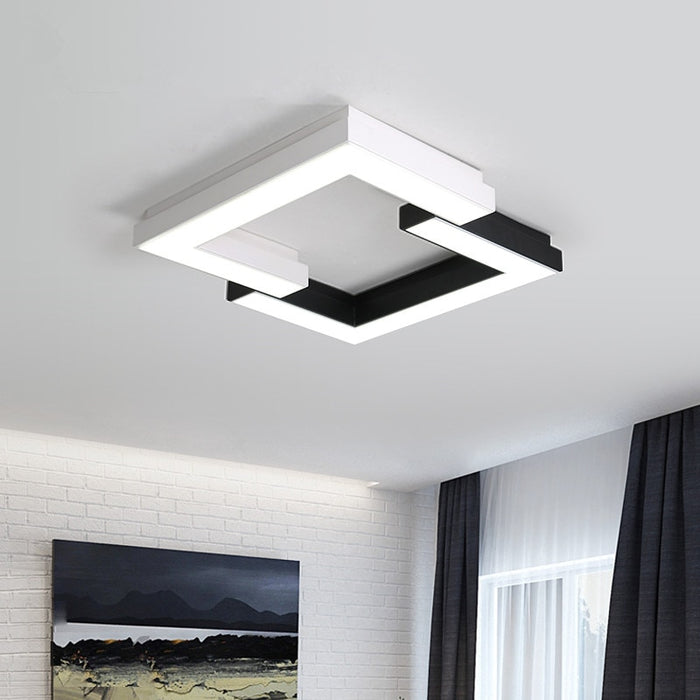 Renda Square LED Ceiling Light from Interior Deluxe | Modern Lighting + Decor