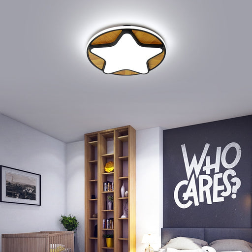 Happy Star LED Ceiling Light from Interior Deluxe | Modern Lighting + Decor