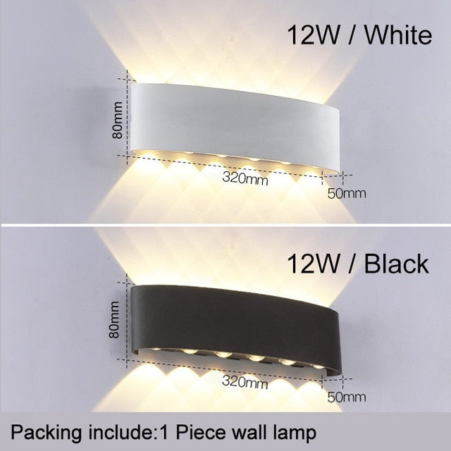 Anemo Outdoor Wall Light from Interior-Deluxe.com | Modern Lighting + Decor
