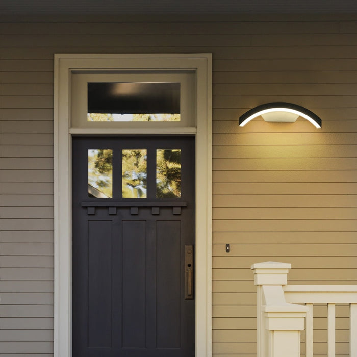 Shelter LED Outdoor Wall Light from Interior Deluxe | Modern Lighting + Decor