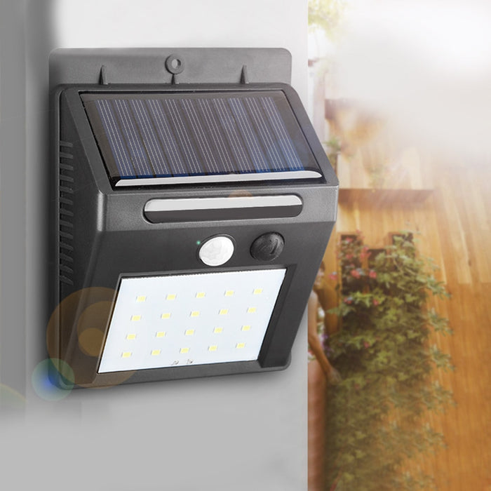 Limas LED Solar Outdoor Wall Light from Interior Deluxe | Modern Lighting + Decor