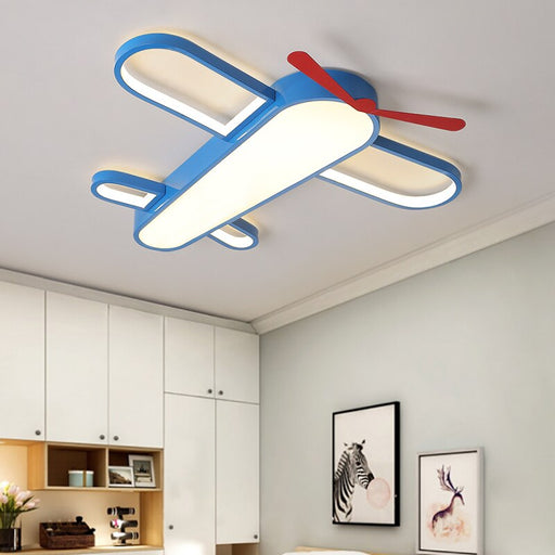 Buy online latest and high quality Modern Airplane Blue LED Ceiling Light from Interior Deluxe | Modern Lighting + Decor