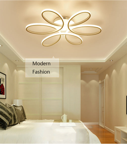 Curly LED Ceiling Light from Interior-Deluxe.com | Modern Lighting + Decor