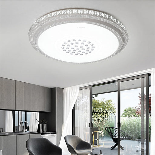 Raissa Crystal LED Ceiling Light from Interior Deluxe | Modern Lighting + Decor