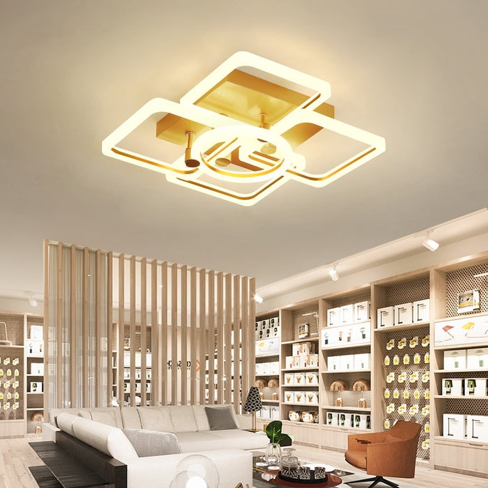 Yozzalo LED Ceiling Light from Interior Deluxe | Modern Lighting + Decor