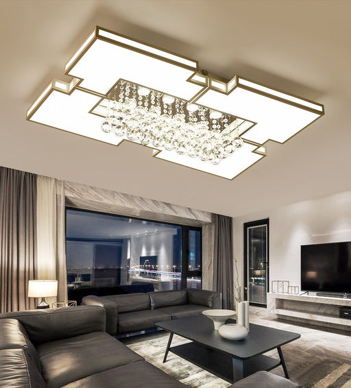 Meggan Crystal LED Ceiling Light from Interior Deluxe | Modern Lighting + Decor