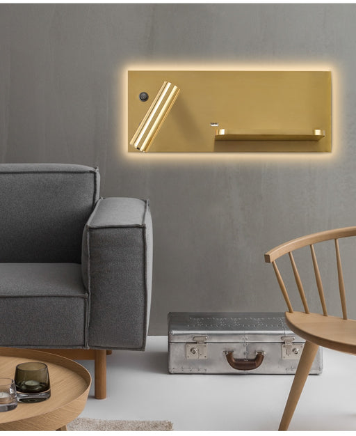 Matrix LED Wall Light from Interior-Deluxe.com | Modern Lighting + Decor
