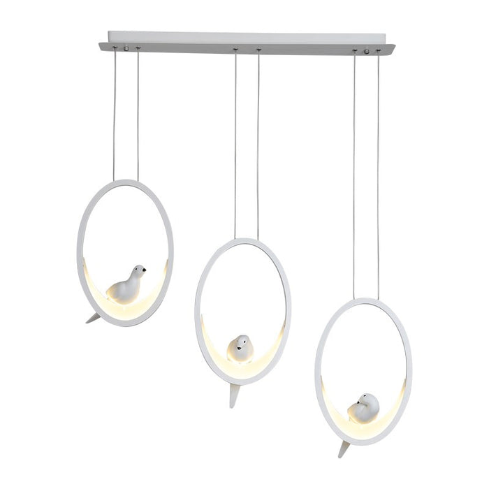 O-Elemma LED Pendant Light from Interior Deluxe | Modern Lighting + Decor