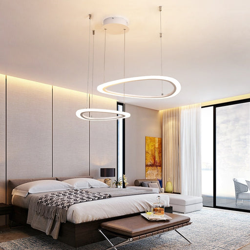 Buy online latest and high quality Aprillo LED Chandelier from Interior Deluxe | Modern Lighting + Decor