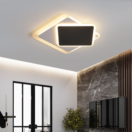 Motus Square LED Ceiling Light from Interior Deluxe | Modern Lighting + Decor