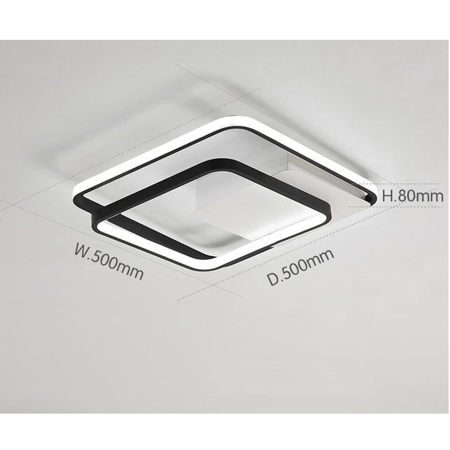 Triwid Square LED Ceiling Light