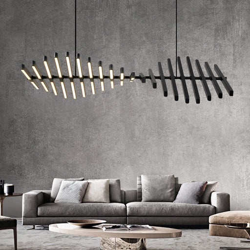 Buy online latest and high quality Chokky LED Linear Suspension from Interior Deluxe | Modern Lighting + Decor