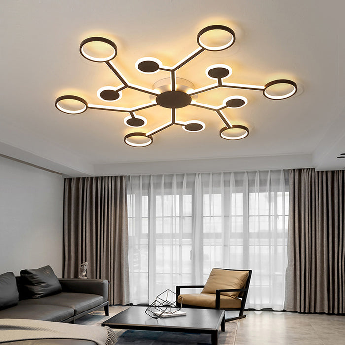 Buy online latest and high quality Dhoni LED Ceiling Light from Interior Deluxe | Modern Lighting + Decor