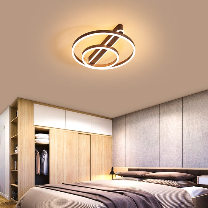 Buy online latest and high quality Santso LED Ceiling Light from Interior Deluxe | Modern Lighting + Decor