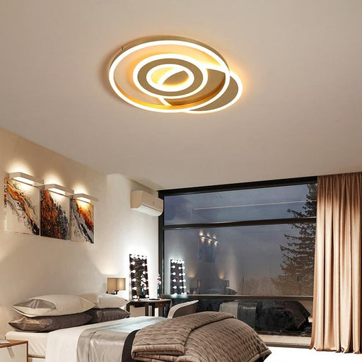 Avrie Round LED Ceiling Lamp from Interior Deluxe | Modern Lighting + Decor