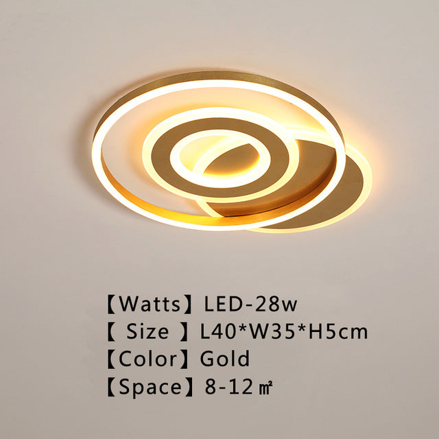 Avrie Round LED Ceiling Lamp